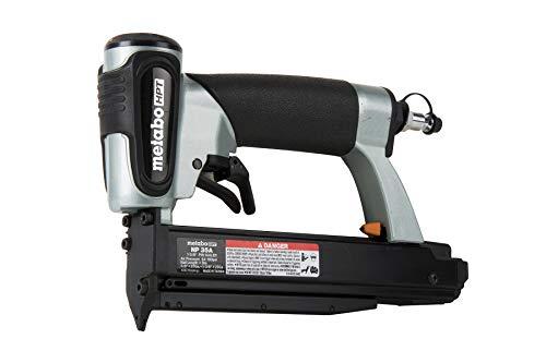 Metabo HPT Pin Nailer Kit, 23 Gauge, Pin Nails - 5/8' to 1-3/8', No Mar Tip - 2, Depth Adjustment,...